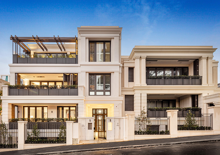 Demaine Partnership - Walsh Street - South Yarra - APTS